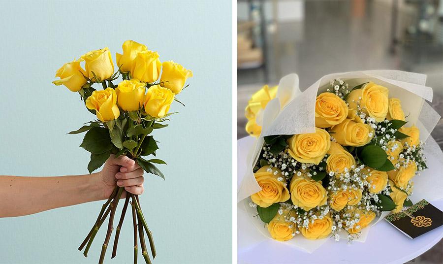 Κίτρινα τριαντάφυλλα