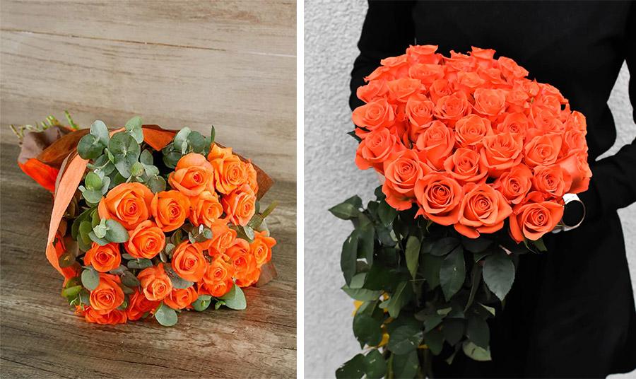 Πορτοκαλί τριαντάφυλλα
