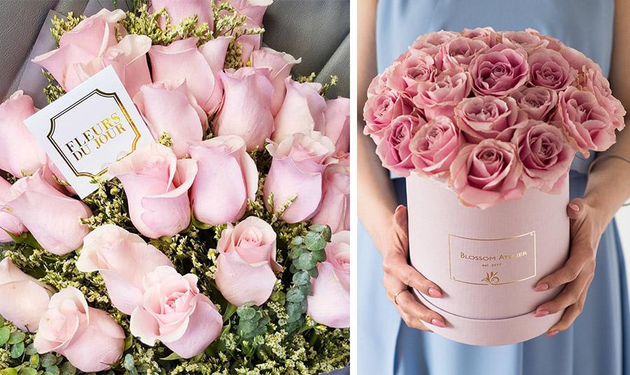 ρόζ τριαντάφυλλα