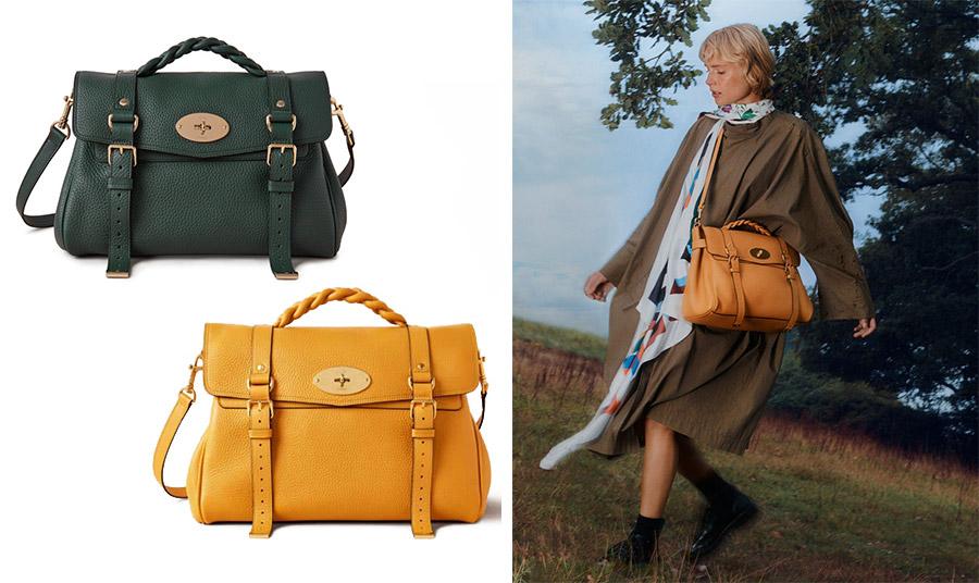 Μετά από 10 χρόνια από τη δημιουργία της, η τσάντα «Αlexa» επανέρχεται με νέα χρώματα και λεπτομέρειες