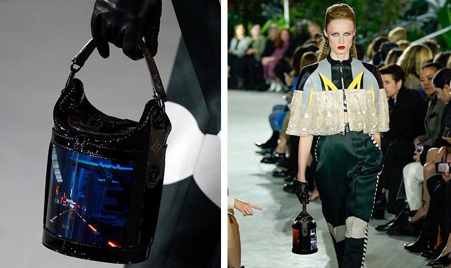 Οι πρωτοποριακές τσάντες που παρουσιάστηκαν στην επίδειξη για τη συλλογή Cruise 2020 στη Νέα Υόρκη, περιγράφονται από τη μάρκα ως μια
