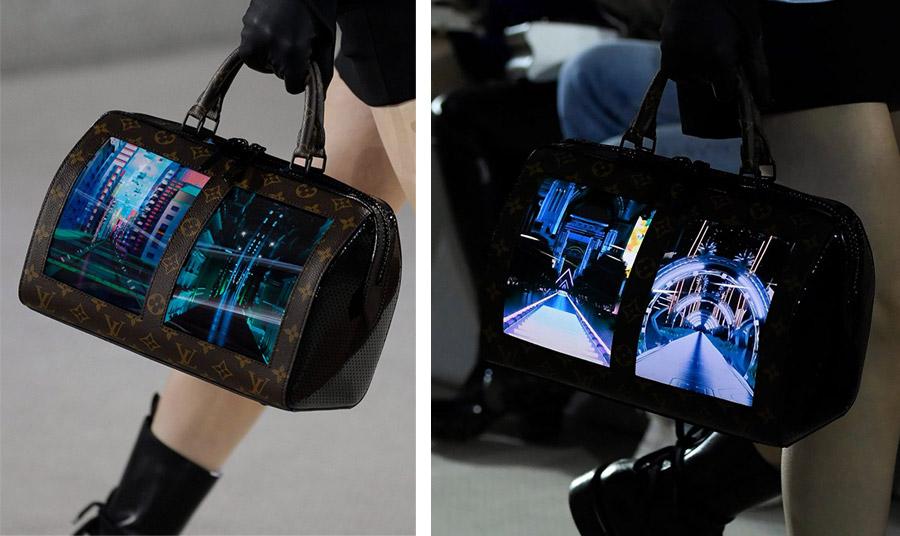 Κατά τη διάρκεια της επίδειξης, οι οθόνες παρουσίαζαν κινούμενες εικόνες από διάφορες πόλεις στον κόσμο, ενώ υπάρχει και ένα demo ενός...Internet browser