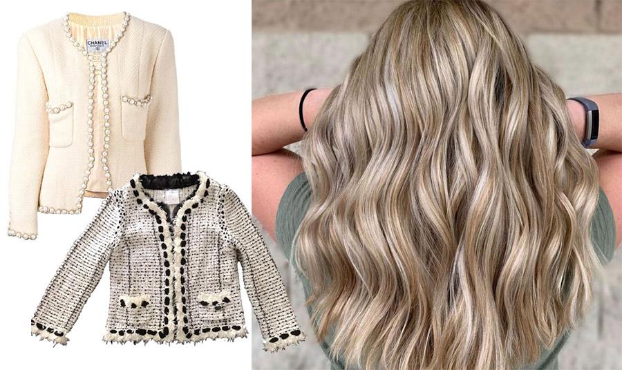 Το ύφασμα τουίντ είναι σαφέστατα συνδεδεμένο με τον οίκο Chanel! Από τα άψογα σακάκια-σύμβολα της γαλλικής κομψότητας στις αποχρώσεις των μαλλιών μας!