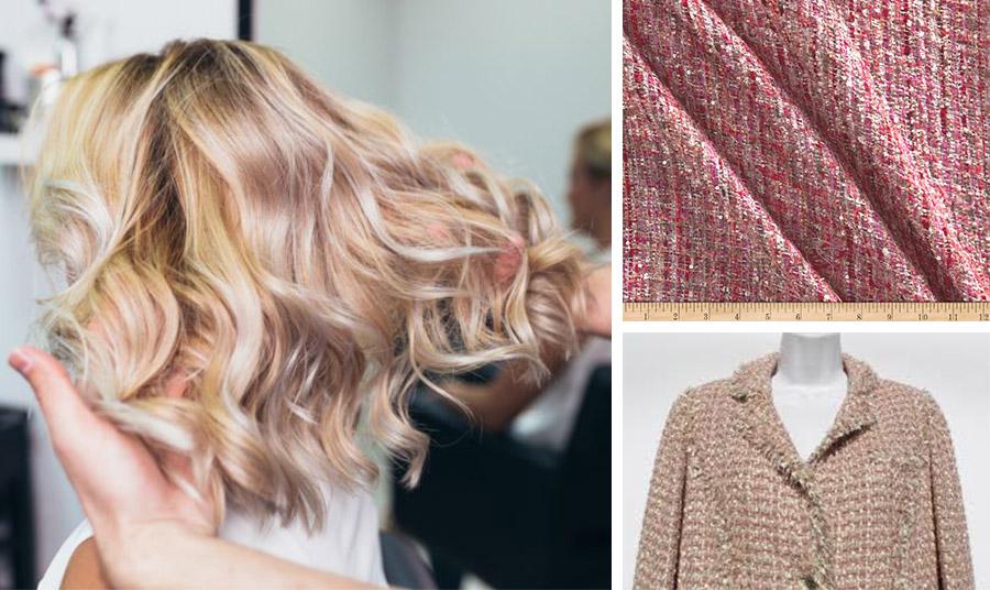 Το τουίντ δημιουργείται από μια ποικιλία διαφορετικών νημάτων… με τον ίδιο τρόπο και οι τούφες στα μαλλιά μας, όπου το χρώμα δεν έχει έντονη απόκλιση, ώστε να συνδυάζεται δημιουργικά!