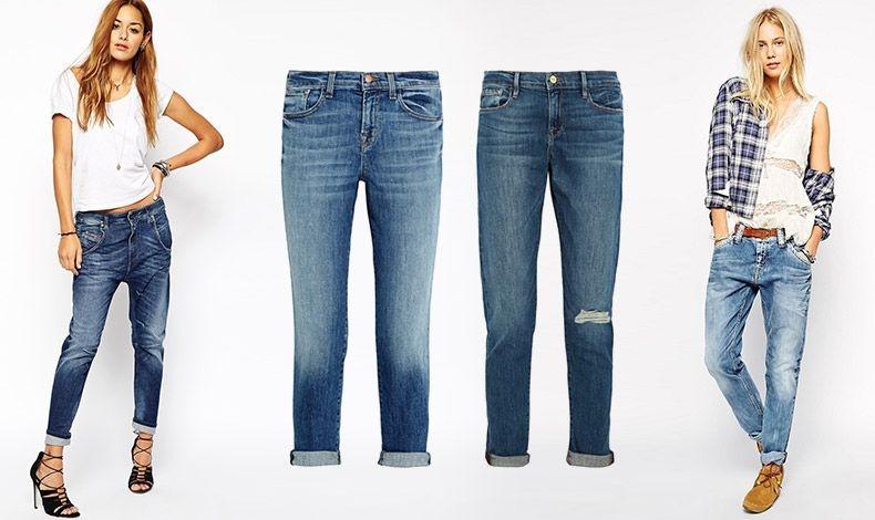 Boyfriend: Άνετα, χαλαρά και στιλάτα, τα boyfriend τζιν παραμένουν στην κορυφή των προτιμήσεων! Φορεμένο με ένα λευκό T-shirt και ψηλοτάκουνα, Diesel // J Brand  // Frame // Casual look, Pepe Jeans