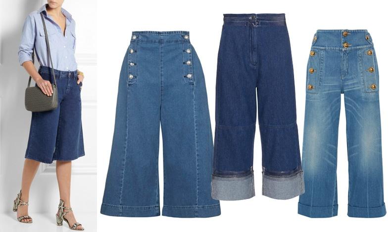 Φαρδιά και κοντά: MiH Jeans // Topshop // Maison Margiela MM6 // Gucci