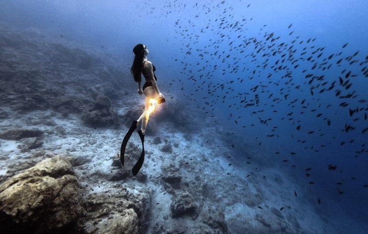 The Underwater Gallery: «Με μία ανάσα»