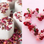 Ετοιμάστε ένα γλυκό σε σχήμα καρδιάς με γλάσο για απολαυστικές μπουκιές! // Φτιάξτε ένα στεφάνι σε σχήμα καρδιάς με φρέσκα λουλούδια