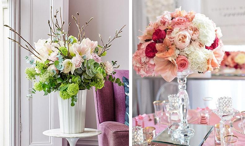 Τα φρέσκα λουλούδια χαρίζουν ζωντάνια και κομψότητα στον χώρο σας. Πάρτε ιδέες για το δικό σας ανοιξιάτικο μπουκέτο!