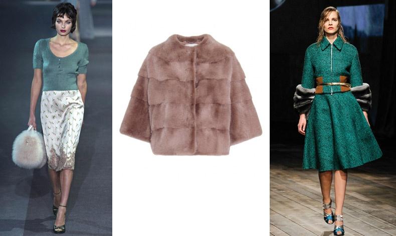 Louis Vuitton / Γούνινο τοπ, Manzoni 24 / Prada