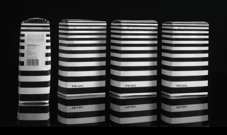 Έτσι φαντάσθηκε ο Μergui τη συσκευασία αλευριού από την Prada
