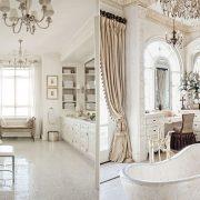 Τα λευκά μπάνια δίνουν την αίσθηση της καθαριότητας και της καλής υγιεινής, εδώ σίγουρα και της? πολυτέλειας!