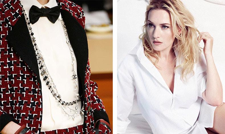 Δεν υπάρχει περίπτωση να μην έχουμε ζηλέψει την άψογη εφαρμογή των πουκαμίσων σε μια επίδειξη της Chanel // Ένα ελαφρώς στρετς πουκάμισο θα σταθεί καλύτερα στο σώμα μας, ενώ και ένας κάπως σκληρός  γιακάς το κάνει να στέκεται σωστά