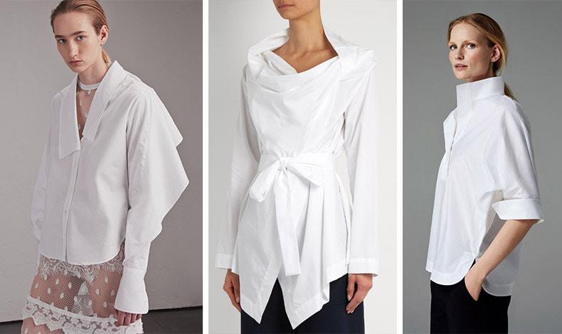Το πουκάμισο-γλυπτό είναι σαν μικρό έργο Τέχνης! Από τις ανοιξιάτικες συλλογές: Burberry // Vivienne Westwood // Husein Chalayan