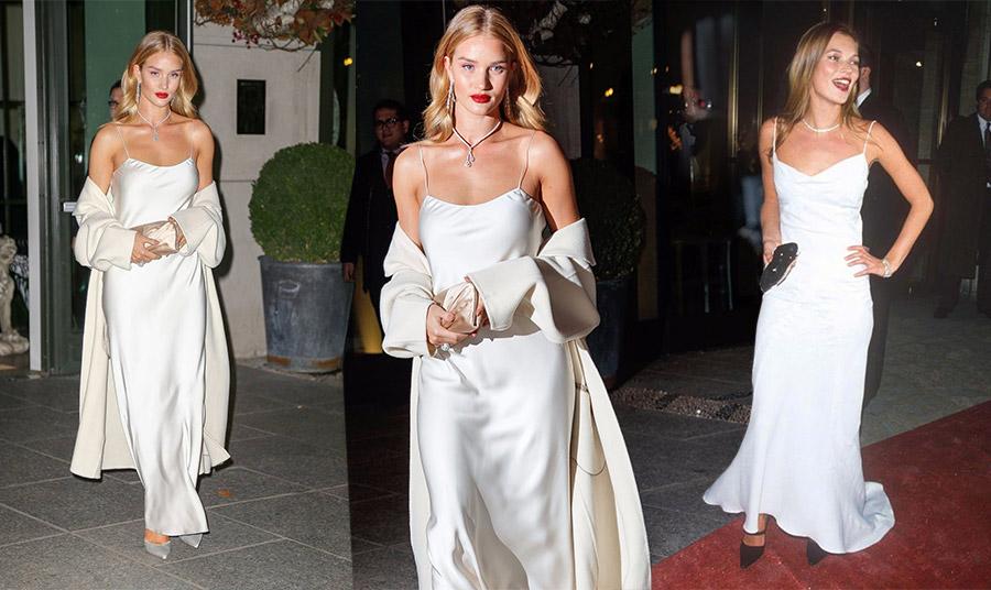 Λευκά μάξι slip dress: Γιατί να τα φορέσετε;