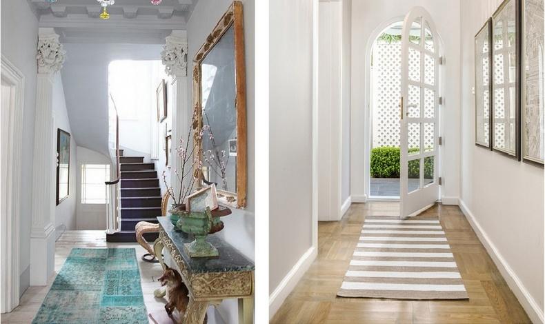 Ένα ράνερ αναβαθμίζει κάθε διάδρομο του σπιτιού, μην το αμελείτε // Λαμβάνουμε υπόψη τις πόρτες, οι οποίες πρέπει να ανοίγουν ελεύθερα
