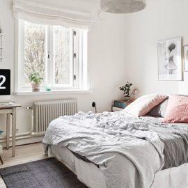 Τα μικρά χαλιά στην κρεβατοκάμαρα δίνουν αίσθημα ζεστασιάς και κομψότητας