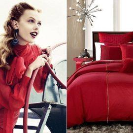 Το κόκκινο φωνάζει ενέργεια και ενθουσιασμό και είναι το χρώμα που ξεσηκώνει όλους όσους θέλουν να ερωτευτούν και να δεσμευτούν. Υποδηλώνει αυτοπεποίθηση και πάθος