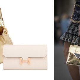 Οι τσάντες και τα πορτοφόλια με μεταλλικά φινιρίσματα και λεπτομέρειες εκτός από κομψά είναι και τυχερά. Κι αν θέλετε να έχετε μεγάλα κέρδη, προτιμήστε χρυσό.