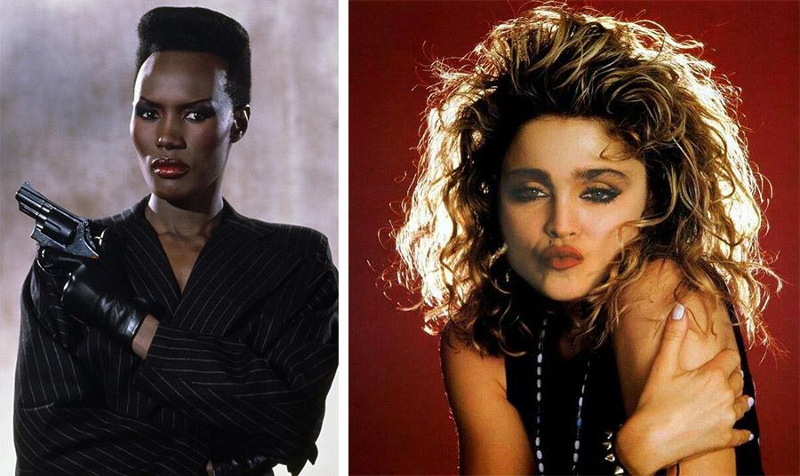 Η Γκρέις Τζόουνς και η Μαντόνα έρχονται ξανά στη μόδα από τα 80s!