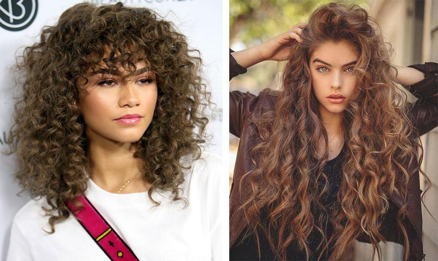 Τα σγουρά μαλλιά σε μεσαίο αλλά και μακρύ μήκος είναι στη μόδα
