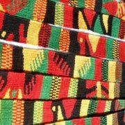 Κόκκινο, πράσινο και χρυσό είναι τα χρώματα-σύμβολα των υφασμάτων από την Τζαμάικα
