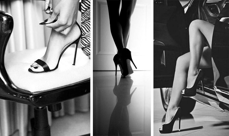 Σίγουρα, τα ψηλοτάκουνα παπούτσια τονίζουν τη θηλυκότητα και το στιλ μας