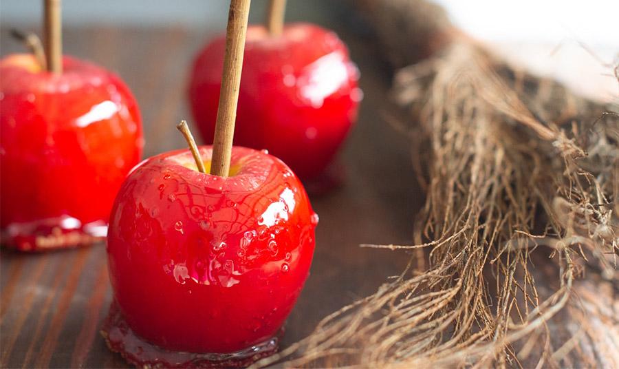 Ζαχαρωμένα μήλα: Μία νοσταλγική λιχουδιά