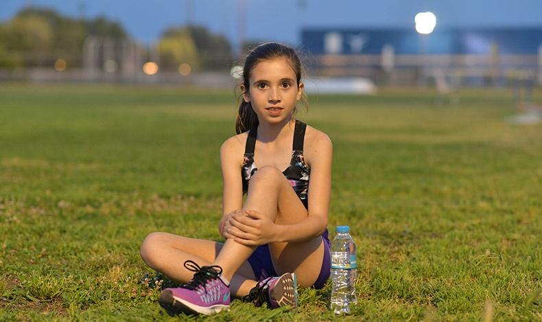 Η Γλυκερία Σκάρκου στα 12 της χρόνια κατέχει την 3η θέση στον ημιμαραθώνιο 5 χλμ. της Αθήνας και συνεχίζει με πείσμα και επιμονή τις σκληρές προπονήσεις