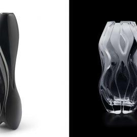 Bάζο «Visio» για τον οίκο Lalique // Bάζο «Manifesto» για τον οίκο Lalique