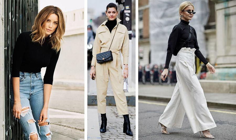 Ένα μαύρο ζιβάγκο ταιριάζει τέλεια για όλες τις ώρες: με τζιν, μέσα από μία φόρμα ή με ένα φαρδύ παντελόνι και μπότες ή ψηλοτάκουνα