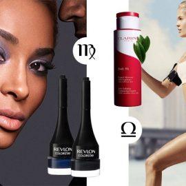 Πρακτική και με αγάπη για τα σκούρα χρώματα μία Παρθένος βρίσκει στο ColorStay™ Crème Gel Eye Liner της Revlon το έντονο βλέμμα και την προσιτή τιμή! // Μία Ζυγός δίνει έμφαση στο άψογο σώμα και το Body Fit Anti-Cellulite Contouring Expert από την Clarins της προσφέρει τη σμιλεμένη σιλουέτα που επιθυμεί!