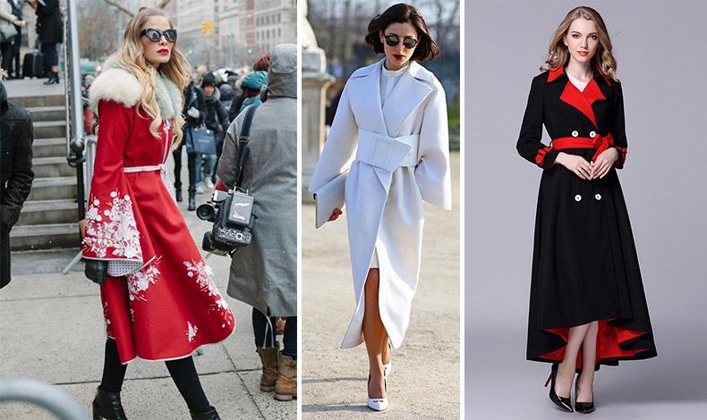 Φορέστε μία λεπτή ή φαρδιά ζώνη και τονίστε τη σιλουέτα σας στο ίδιο χρώμα ή σε κάποιο από τα χρώματα του παλτό σας