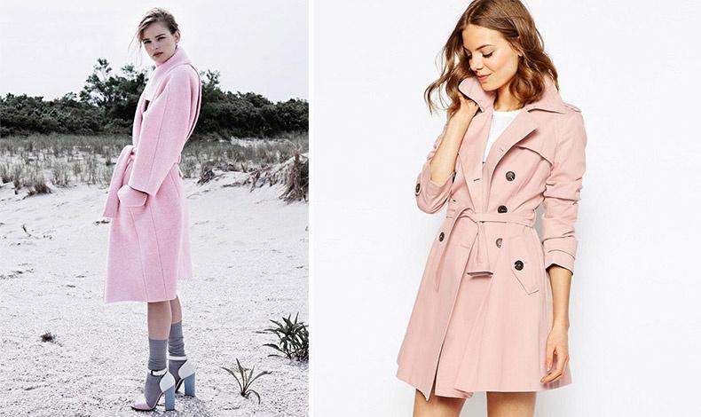 Αντί να κλείσετε τα κουμπιά, στερεώστε το παλτό ή την γκαμπαρντίνα σας με μία ζώνη χαλαρά δεμένη
