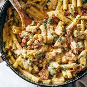 Zυμαρικά με κοτόπουλο αλά ιταλικά